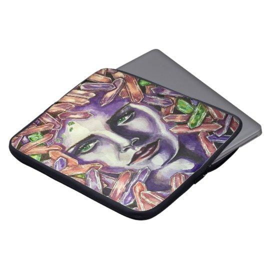 Kristallmädchen Laptop Sleeve Schutzhülle