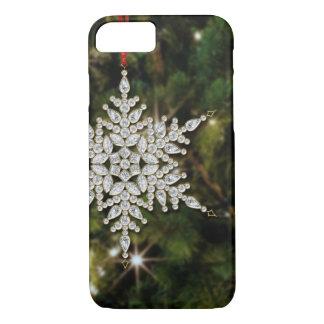 Kristallschneeflocke-WeihnachteniPhone 6 Fall iPhone 8/7 Hülle
