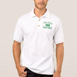Kristallsee-Süd- Alligatoren - hohes - Kristallsee Polo Shirt