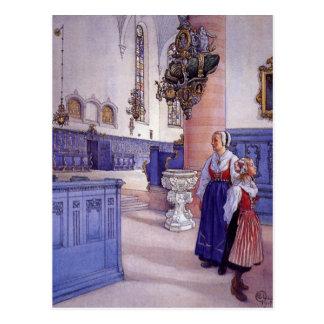 Kristine Kirche Postkarte