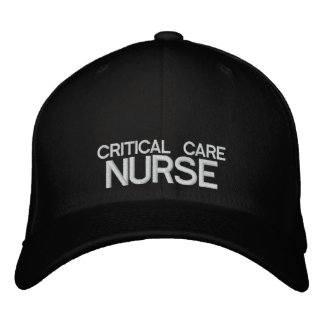 Kritische Sorgfalt-Krankenschwester Flexfit Kappe