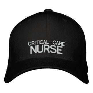 Kritische Sorgfalt-Krankenschwester Flexfit Kappe Bestickte Baseballmütze