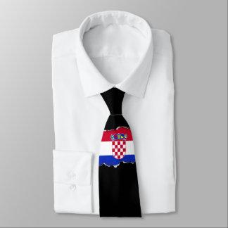 Kroatien-Flagge Individuelle Krawatten