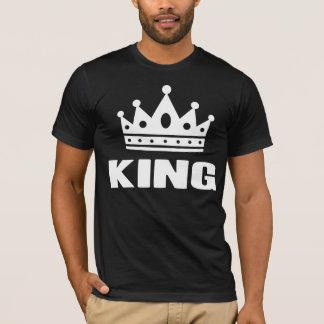 Krone König-einer Farbe T-Shirt