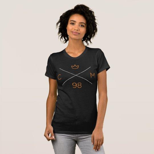 Krone Moto X-Krone (Vintag) T-Shirt