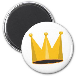 Krone Runder Magnet 5,1 Cm
