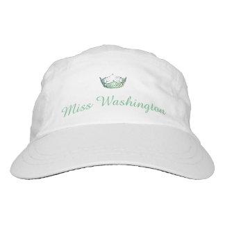 Kronen-Baseballmütze Miss Amerikas grüne Headsweats Kappe