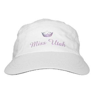 Kronen-Baseballmütze Miss Amerikas lila Headsweats Kappe