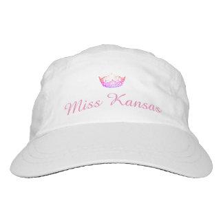 Kronen-Baseballmütze Miss Amerikas rosa Headsweats Kappe