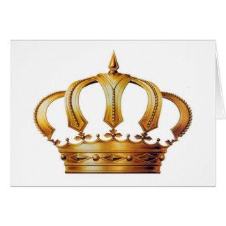 Kronen-Karte der Königin-Elizabeth Karte