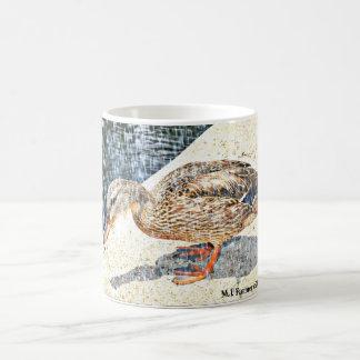 "Kronen-König ""Ente im Regen"" Kaffeetasse-Tasse Kaffeetasse"