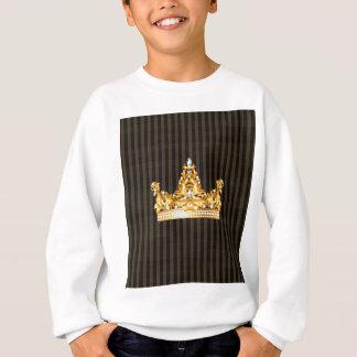 Kronengoldsareptasenf stripes königlichen Adligen Sweatshirt