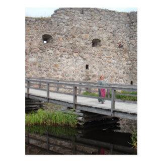 Kronoberg Schloss-Ruinen - Schweden Postkarte
