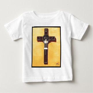 Kruzifix-christliche Malerei Baby T-shirt