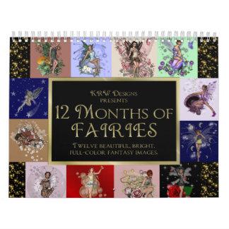 KRW 12 Monate Feen 2010 Kalender