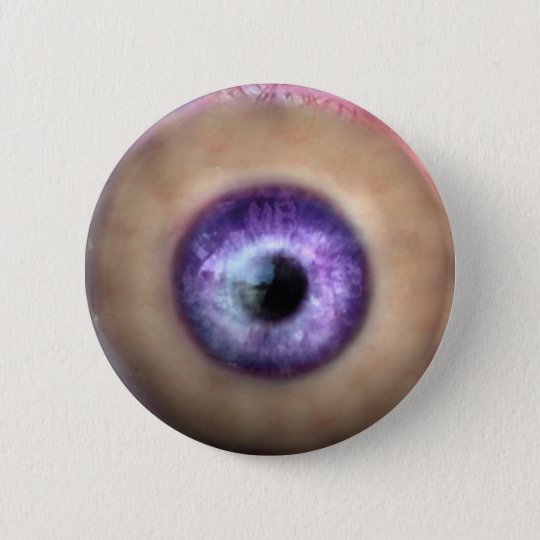 KRW-Auge des Monsters Halloween Runder Button 5,7 Cm