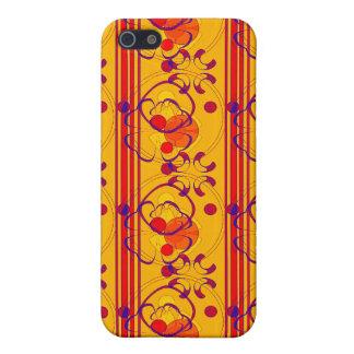 KRW-Kunst Nouveau tropische Farbrechtssache I iPhone 5 Etuis