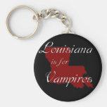 KRW Louisiane est pour des vampires Porte-clé Rond