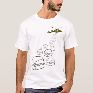 Krystal Hubschrauber T-Shirt