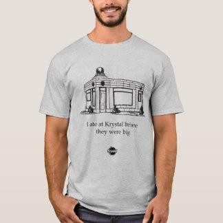 Krystal Vorlagen-Gebäude T-Shirt