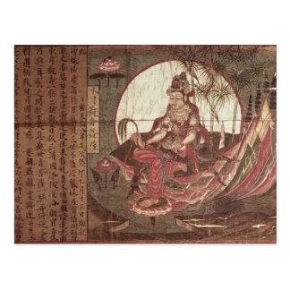Kuan-yin, Göttin des Mitleids Postkarte