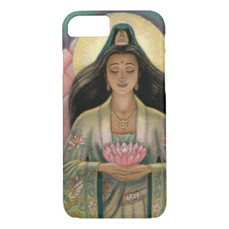 Kuan Yin Göttin von Mitleid iPhone 7 Fall iPhone 8/7 Hülle
