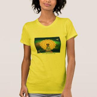 Kuan Yin Wand-Tapisserie T-Shirt