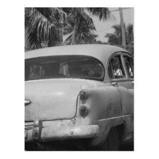 Kuba-Auto Postkarte