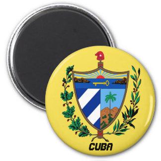 Kuba-Mantel bewaffnet Küchen-Magneten Runder Magnet 5,1 Cm