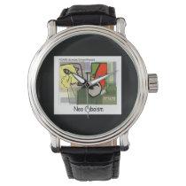 Kubismus Castro (NeoCubaIsm) lustige Unisexuhr Uhren