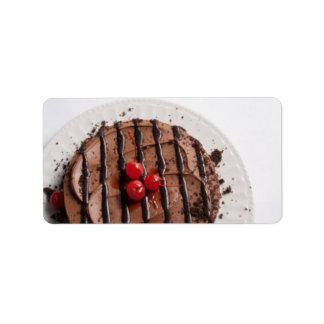 Kuchen Adressetiketten