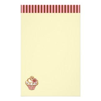 Kuchen-Bäckerei-Briefpapier Bedrucktes Büropapier