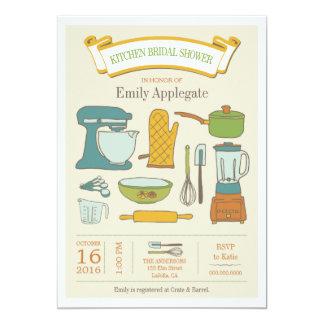 Küchen-Brautparty-Einladung 12,7 X 17,8 Cm Einladungskarte