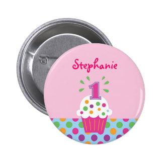 Buttons mit Geburtstags-Designs bei Zazzle