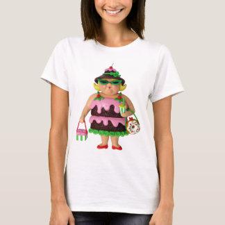Kuchen-Frau T-Shirt