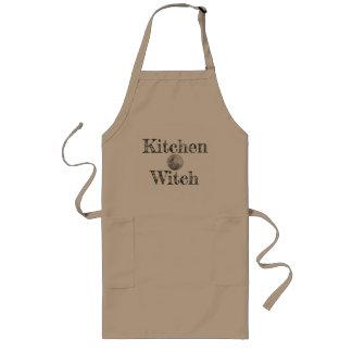 Küchen-Hexe-besonders lange Schürze