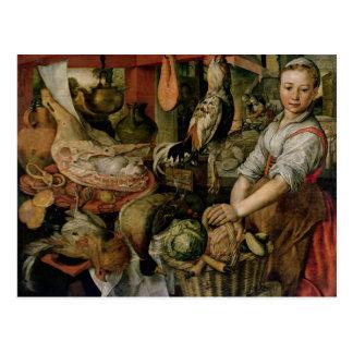 Küchen-Innenraum, 1566 Postkarte