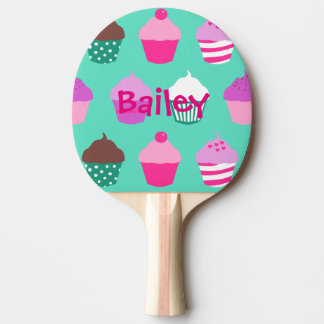 Kuchen-Klingeln pong Paddel Tischtennis Schläger