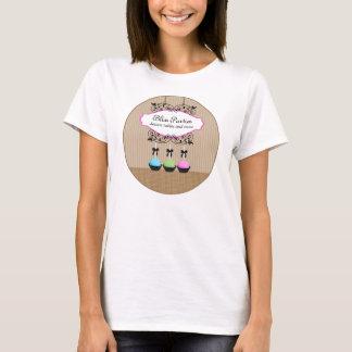 Kuchen-Pop-Nachtisch-Geschäfts-T - Shirt