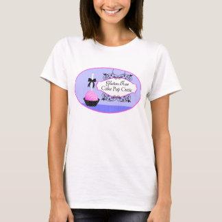 Kuchen-Pop-Nachtisch-kundenspezifischer T-Shirt
