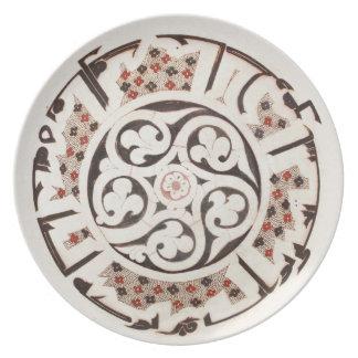 Kufic Melaminplatte Teller