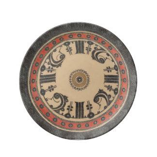 Kufic Platte Teller