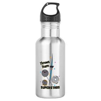 Kugelstoßendiscus-Hammer-Speer-Wurfs-Spaß-Geschenk Trinkflasche