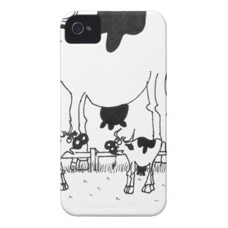 Kuh-Cartoon 3372 Case-Mate iPhone 4 Hüllen