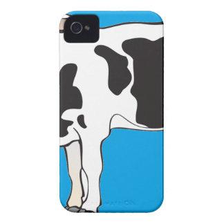 Kuh-Cartoonvektoren--b iPhone 4 Hüllen