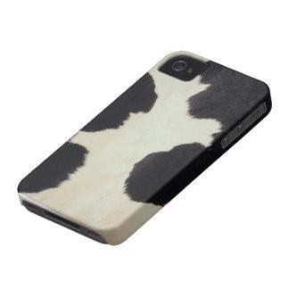 Kuh-Fell iPhone 4 Hülle