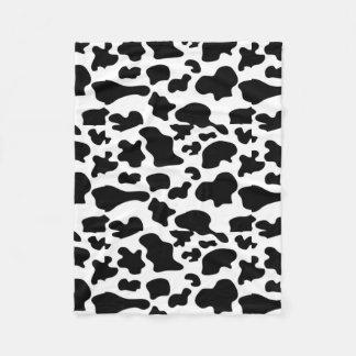 Kuh-Muster-Decke Fleecedecke