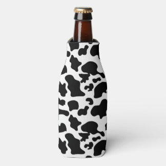 Kuh-Muster-Flasche Coozy