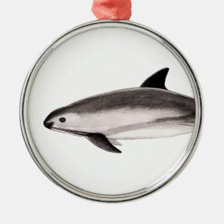 Kuh Silbernes Ornament