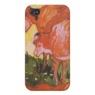 Kühe (nach Jordaens) durch Van Gogh iPhone 4 Hüllen